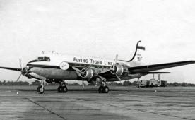 Flying Tiger Line C54