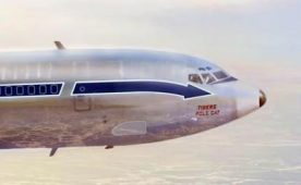 Flying Tigers Boeing 707 POLECAT
