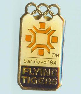 Flying Tigers Sarajevo Pin
