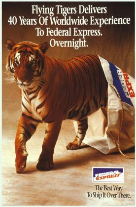1988 - Flying Tiger Line merges with FedEx